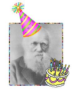 Darwin Birthday